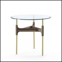 Table d'appoint 163-Verre Paloma