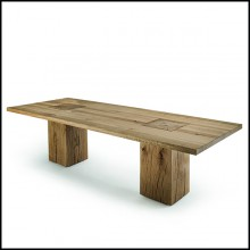 Table 154-Full Wood Oak