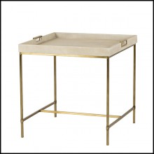 Table d'appoint 36-Shagry Cream