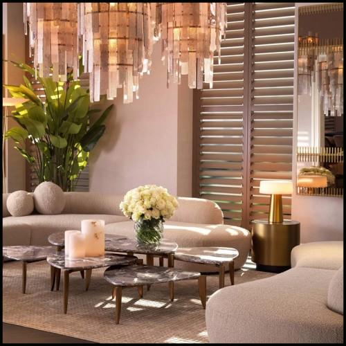 Armchair in natural genuine leather in cognac finish by De Pas D'Urbigno & Lomazzi for Poltronova PC-Baseball Glove Joe