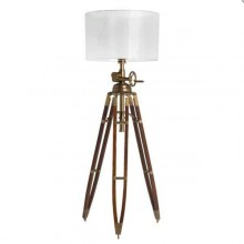 Lampadaire pied ajustable en laiton antique 24-ROYAL MARINE