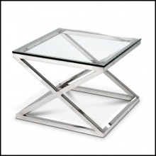 Table d'appoint 24-CRISS CROSS