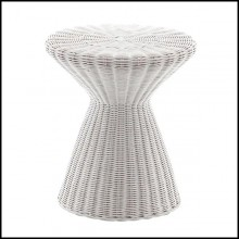 Table d'appoint 30- Coil White