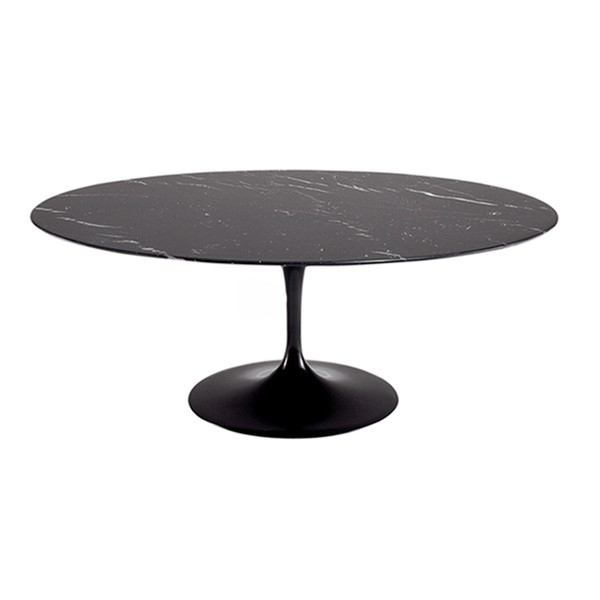 Table ovale 109 saarinen pacific compagnie - Saarinen table ovale ...