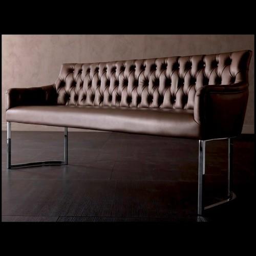 Pot collection Doux en résine de LLDPE blanche, résistant aux UVI 111-Pal