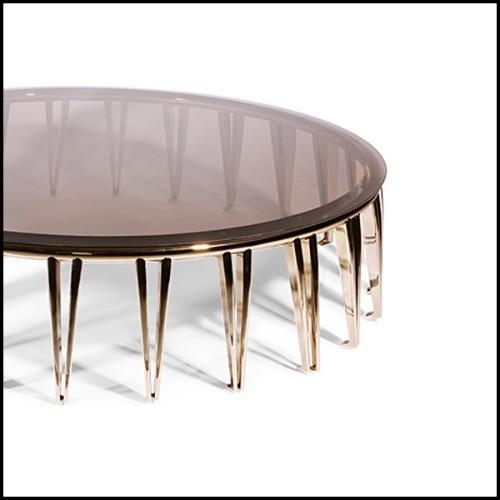 Table de repas collection Vela en résine de LLDPE blanche, plateau en HPL, résistant aux UVI 111-RAMON ESTEVE