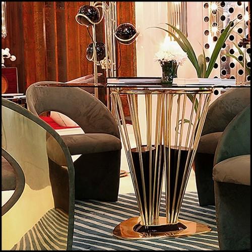 Canapé en résine de LLDPE blanche, résistant aux UVI 111-Stone