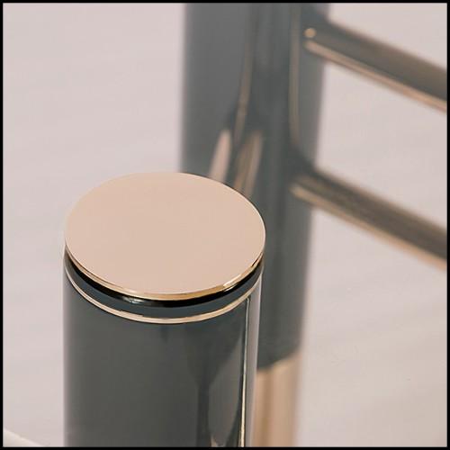 Canapé 3 places en résine de LLDPE blanche, résistant aux UVI 111-Blow