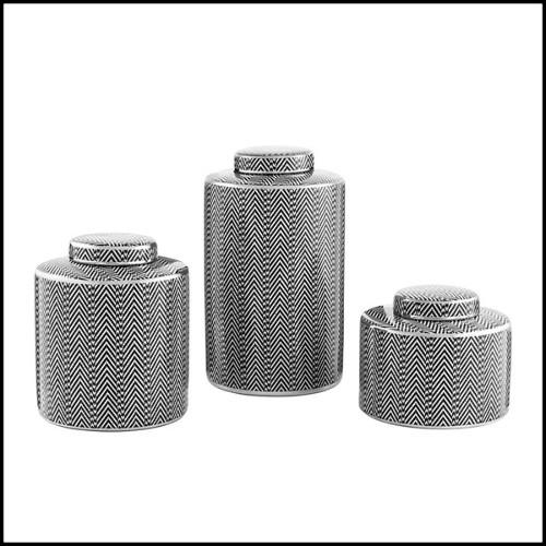 Lampe sur pied en résine de polyéthylène blanche 111-VASE JM. FERRERO