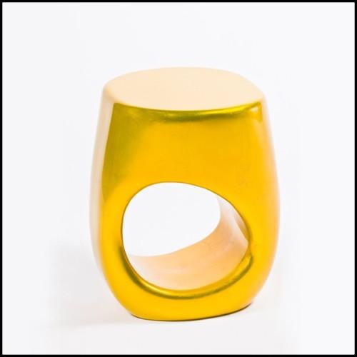 Canapé collection Jut en résine de LLDPE blanche, résistant aux UVI 111-Jut