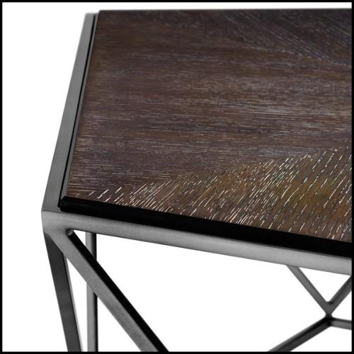 Table collection Jut en résine de LLDPE blanche, résistant aux UVI 111-STUDIO VONDOM