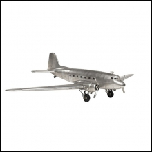PLANE hand made, aluminium leaf 113-DAKOTA DC3