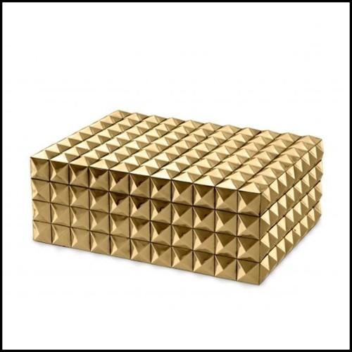Coussin en tissu avec motif noir et blanc brodé à la main 24-BLAKES