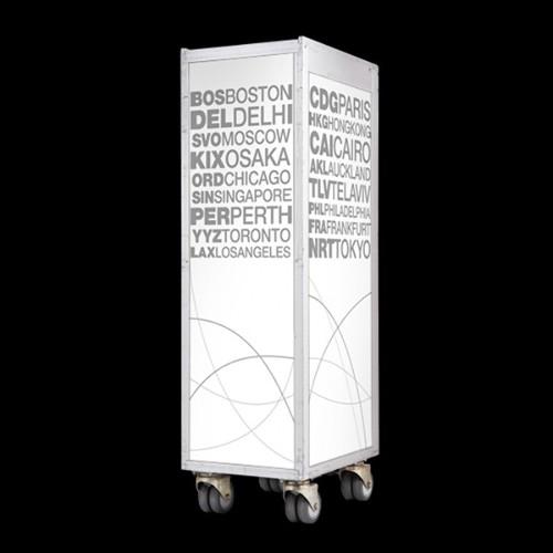 Lampe en cornes sur socle en chêne massif PC-HORN