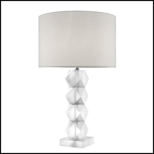 Bout de canapé avec branches de bois flotté roses saisies dans du verre acrylique 31-Kisimi Pink Branches