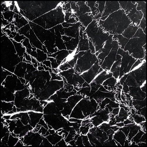 Table basse en bois pétrifié avec base en acier inoxydable poli 24-Stoned Petrified Wood