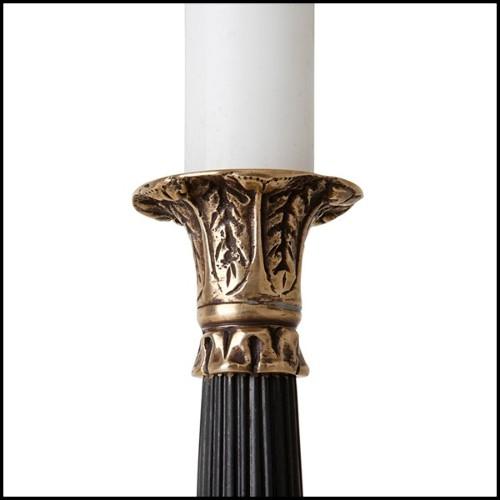 Tête de lit Double détail en bois sculpté à la main 119-Grace