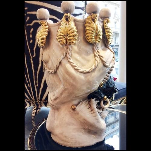 Miroir Cadre Ovale en Acajou sculpté et incurvé à la main 119-Ovum