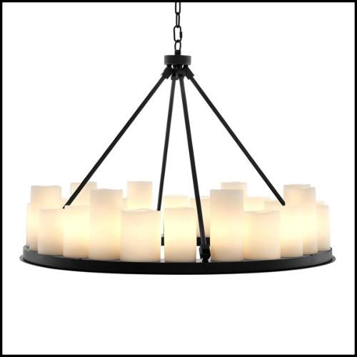 Miroir avec structure en bois sculpté à la main 119-Breguet