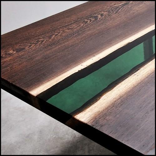 Chaise avec structure en hêtre massif 140-Dagmar
