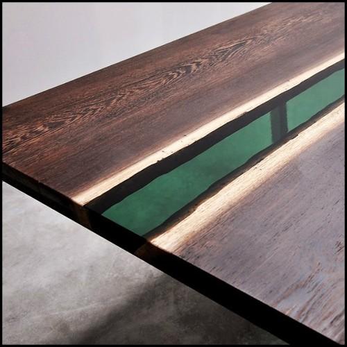 Chaise avec structure en hêtre massif 140-Quadra