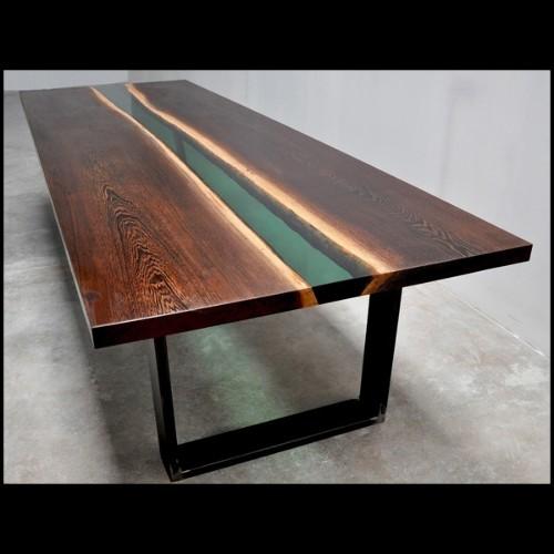 Chaise avec structure en bois de hêtre massif 140-Josephine