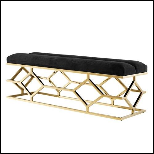 Chaise avec structure en hêtre massif 140-Majken