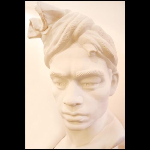 Miroir avec apostrophe sculpté à la main 119-The Apostrophe