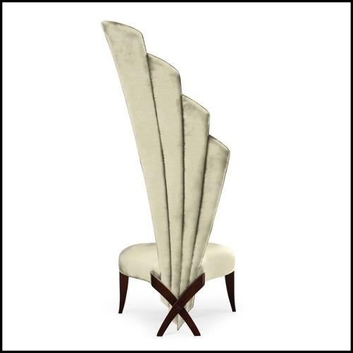 Canapé 3 places Settee deep seating en teck massif 139-Avon
