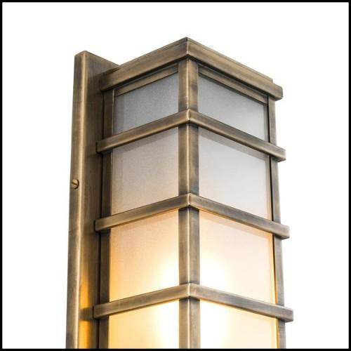 Table de repas ronde en teck massif 139-Balmoral