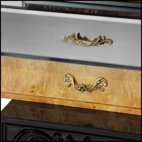 Console en verre cintré 146-Elementare