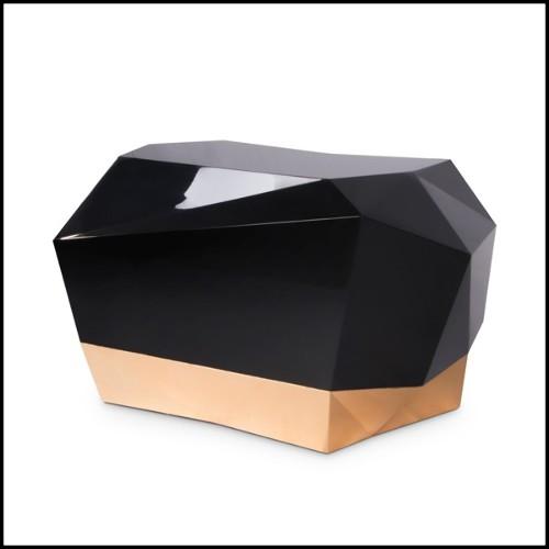 Console en verre cintré 146-Equita
