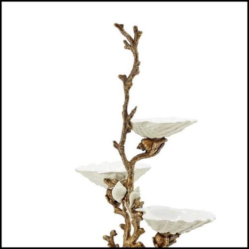 Table de repas pour huit personnes signée Christopher. Pieds en acajou massif 119-Cristaux pour huit