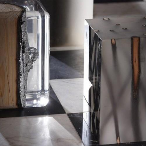 Photophore ou Lanterne pour extérieur fabriquée en aluminium thermolaqué, bougie incluse 149-Touareg