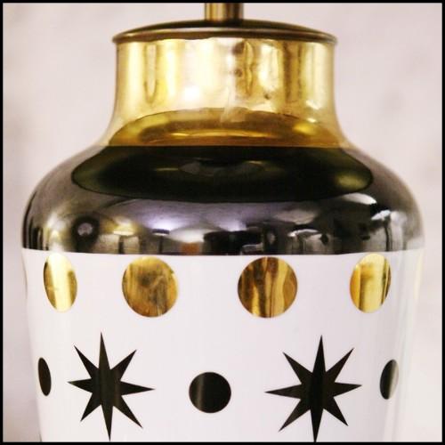 Photophore ou Lanterne pour extérieur en aluminium anodisé et méthacrylate 149-Vertical