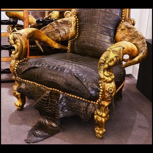 Table basse avec piétement UgoX en acier et plateau céramique 07 avec ceinture métal 148-UgoX Céramique 07