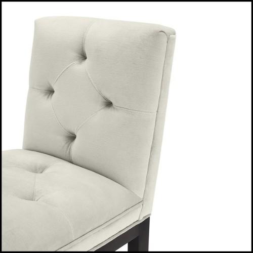 Miroir mural avec cadre acier inoxidable et motif en verre ondulé 35-Gatsby