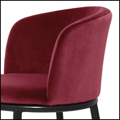Table basse avec structure finition or et plateau en verre 24-Equis