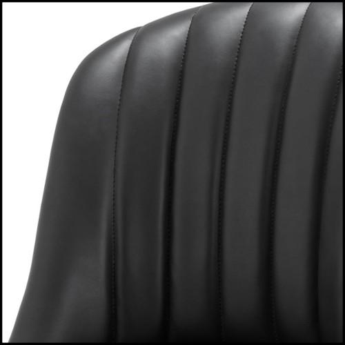 Table d'appoint avec structure finition gold avec verre miroir et plateau de dessus coulissant en verre clair 24-Harvey