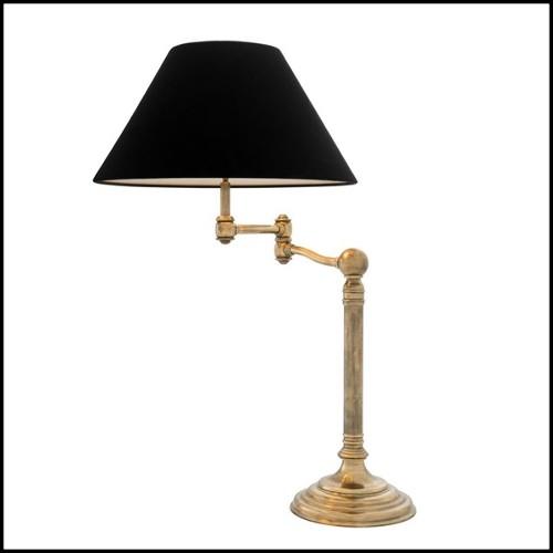 Table d'appoint avec plateau 3 feuilles de nénuphar en crystal de Baccarat sur pieds en fer forgé PC-Nénuphar 3