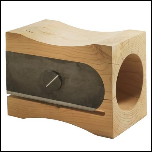 Canapé d'angle en tissu avec structure en bois massif entièrement déhoussable 152-Pacha