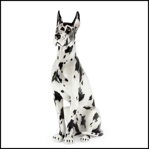 Table basse avec plateau plaqué chêne et pieds en acier 152-Venus