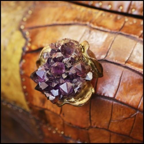 Table basse avec plateau plaqué chêne et pieds en acier 152-Ogive