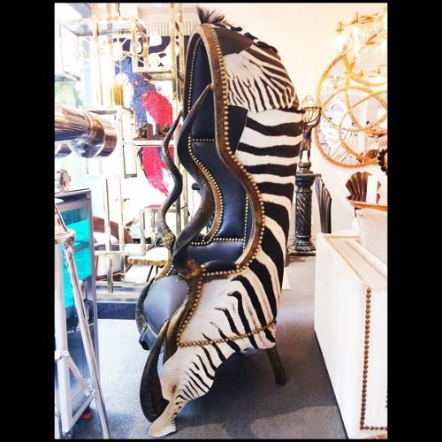 Sculpture Eclaté de Homard avec structure en cuivre sous vitrine en verre PC-Eclaté de Homard