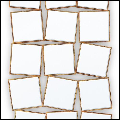 Repose pieds avec structure en bois massif 152-Cube