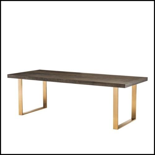 Lampe Forum avec structure finitions nickel et verre 24-Forum