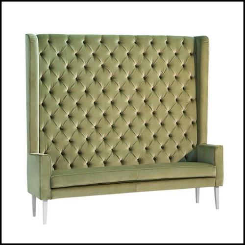 Chaise en acier brossé 09-Industry
