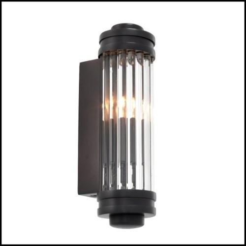 Tabouret de bar avec finition acier brossé 09-Loft