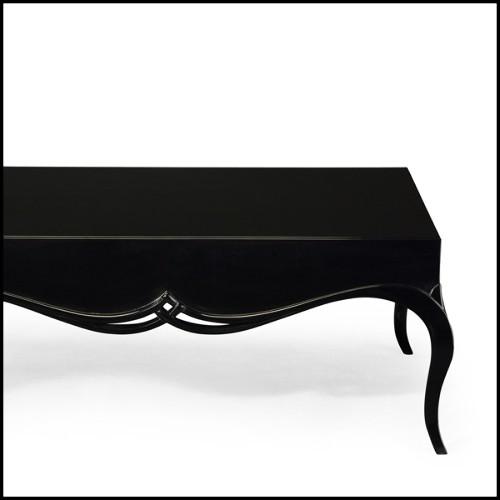 Table haute avec pieds en acier brossé et plateau en teck naturel recyclé 09-Arri Patch