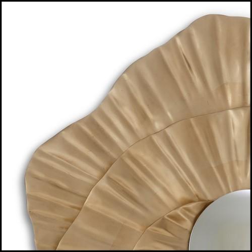 Miroir composé de pièces de verre miroir taillées 119-Star